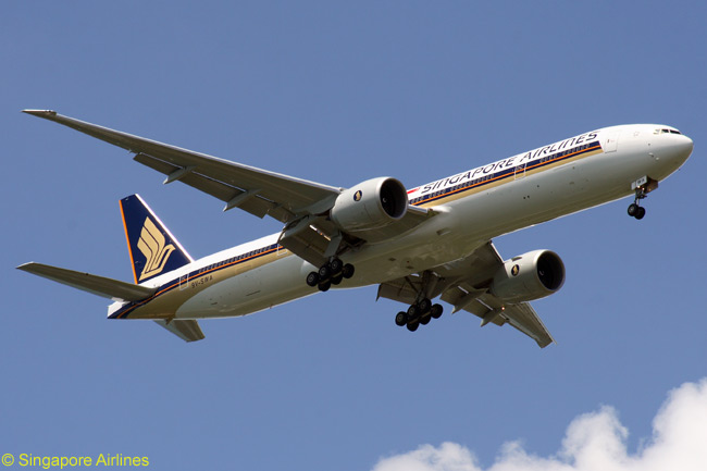 Singapore Airlines, which operates the second-largest fleet of Boeing 777s in the world (including a sizable number of 777-300ERs, like this one), is upgrading the interiors of some of its Boeing 777s