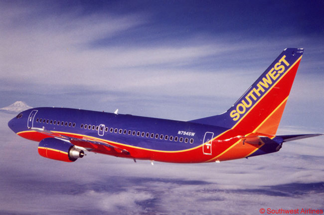 While the Boeing 737-700 is the mainstay of the Southwest Airlines fleet – the carrier and its subsidiary AirTran Airways operating and holding orders and other purchase rights for nearly 700 – Southwest also operates many Boeing 737-300s and 737-500s. Southwest also has a sizable number of Boeing 737-800s and 737 MAX 8s on order