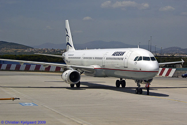Aegean Airlines will use Airbus A321s configured in two-class configuration for its twice-daily services from Athens to London Heathrow, which it begins serving on October 25