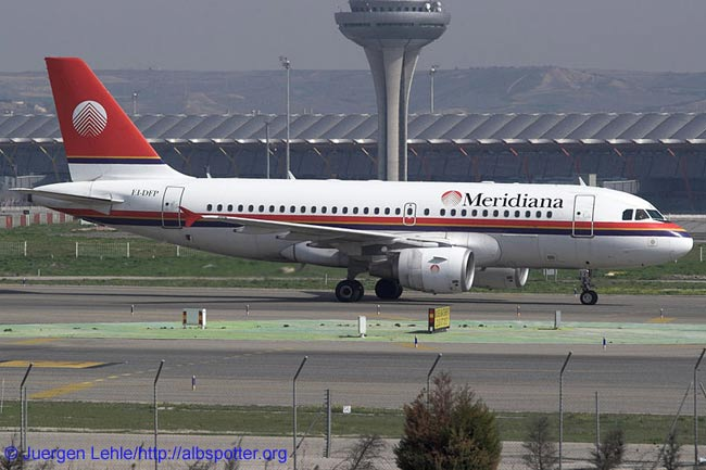 Italy's Meridiana, which has agreed a codeshare deal with Finnair, operates a fleet of four Airbus A319s and 18 McDonnell Douglas MD-82s/83s. Meridiana also has a sister airline, Eurofly, which operates eight Airbus A320s and four Airbus A330-200 widebodies