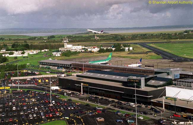 Shannon Airport in western Ireland has become the first airport outside Canada, the Caribbean and Bermuda to offer full U.S. Customs and Border Patrol pre-clearance facilities for flights to U.S. destinations
