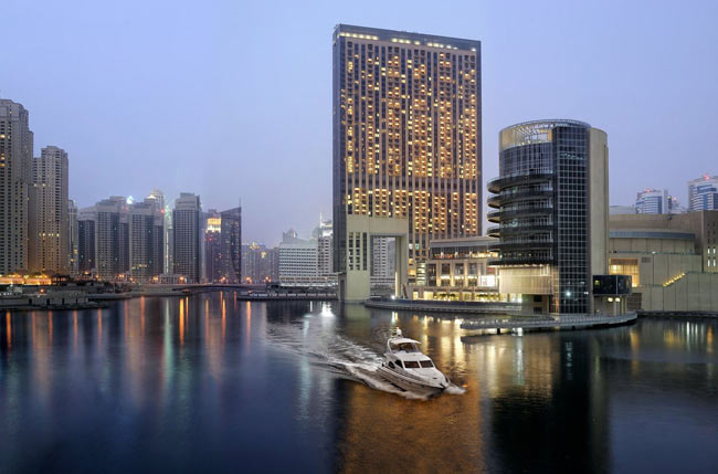 The Address Dubai Marina is one of two new hotels that The Address Hotels + Resorts is opening in Dubai in the second half of 2009