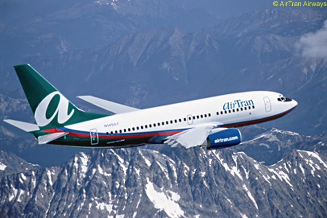 AirTran Airways' all-Boeing fleet includes a large number of Boeing 737-700s as well as the world's biggest fleet of Boeing 717s