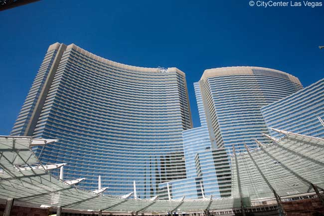 Part of Las Vegas' spectacular new CityCenter urban resort development, ARIA Resort & Casino will open as a futuristic, Gold-LEED-certified building on December 16