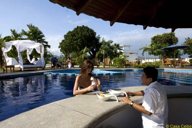 Ecuadorian luxury boutique hotel Casa Ceibo is tiny at 18 rooms, but promises high standards of accommodations, dining and amenities