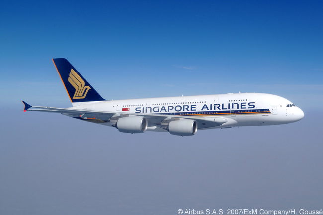 In late 2007, Singapore Airlines became the first customer to take delivery of the super-jumbo Airbus A380 and it is one of the largest customers for the type, with a total of 19 ordered to date and holding options on six more