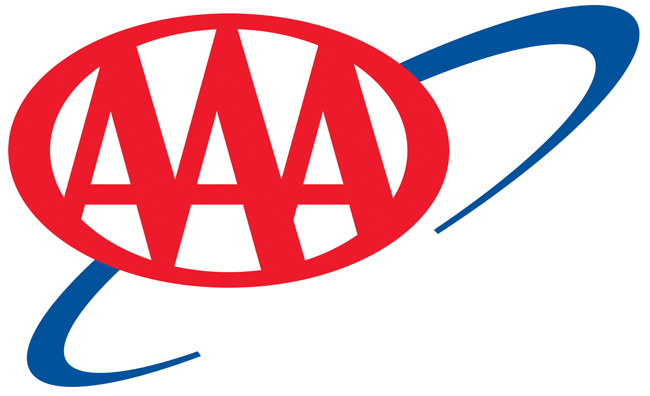 This is the official logo of the American Automobile Association (AAA), founded in 1902. Copyright AAA