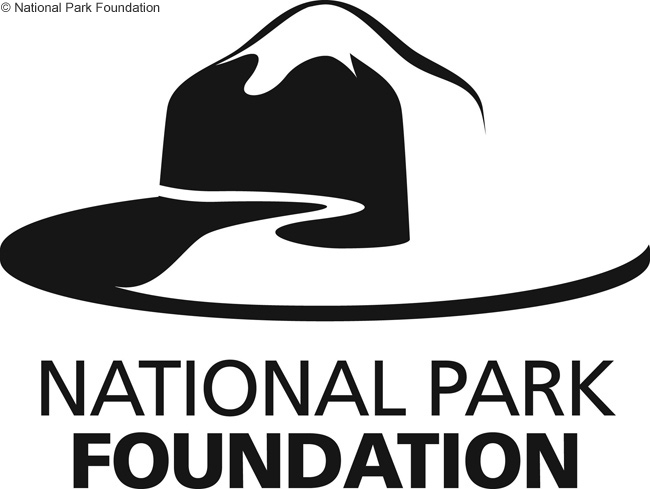 This is the logo of the National Park Foundation, the official non-profit charity partner of America's National Parks
