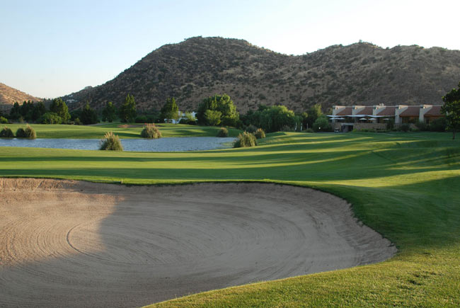 The championship-standard golf course at Las Brisas de Chicureo in Chile. Source: Las Brisas de Chicureo