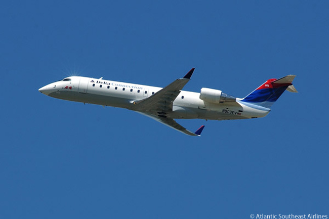 Until now purely a Delta Connection operator, Atlantic Southeast Airlines will operate 13 Bombardier CRJ regional jets on United Express service from early 2010 as a result of a series of financial and codesharing agreements reached between ASA's parent SkyWest, Inc. and United Airlines on October 20, 2009