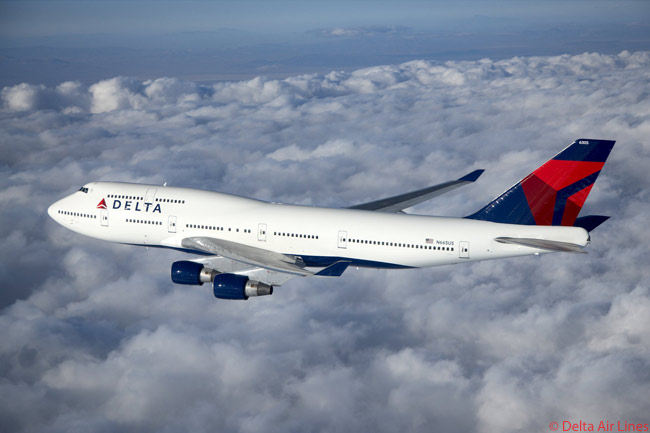 Delta Air Lines inherited a fleet of 16 Boeing 747-400s from Northwest Airlines upon its merger with the Minneapolis/St. Paul-based carrier. By mid-November 2012, Delta had completed installing full flat-bed seats in the BusinessElite business-class cabins of all 16 aircraft