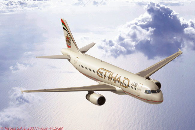 Abu Dhabi's Etihad Airways operates a fleet predominantly comprised of Airbus aircraft and which includes a growing number of A320-family narrowbody jets. By the end of 2009, the airline's A320-family complement will comprise 13 A320s and two A319s