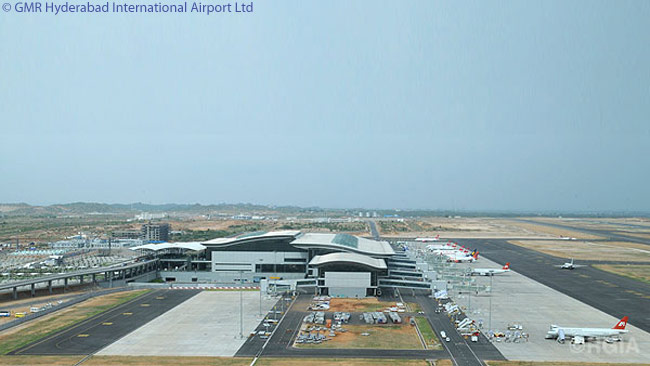 Hyderabad's Rajiv Gandhi International Airport (RGIA, IATA code HYD), which was developed and is operated by GMR Hyderabad International Airport Limited, started commercial operations on March 23, 2008. The airport has one of India's longest runways at 4,260 metres and in its initial development phase is designed to handle 12 million passengers, more than 100,000 tonnes of cargo and 90,000 air traffic movements per annum. The airport's ultimate capacity is designed to be more than 40 million passengers and 1 million tonnes of cargo