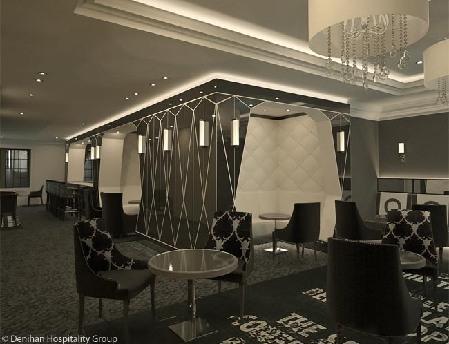 Bar Pleiades by Cafe Boulud is located at The Surrey, a newly renovated luxury hotel on Manhattan's Upper East Side