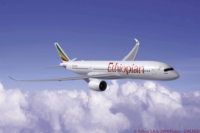Ethiopian Airlines has confirmed its acquisition of 12 A350 XWBs, becoming a new Airbus customer and bringing the total number of orders for this next-generation aircraft to 505