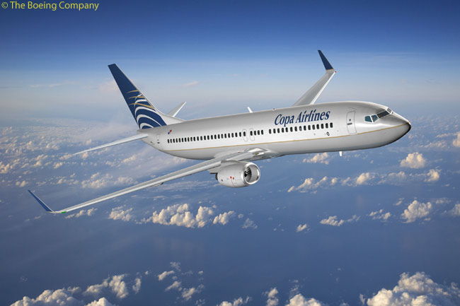 Panama's Copa Airlines is growing rapidly and placed several repeat orders in 2009 for Boeing 737NGs. By December 2009, Copa had 20 737-700s and eight 737-800s in service, with another 29 737NGs on order, and also operates a fleet of 15 Embraer 190s