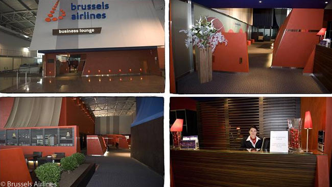 Brussels Airlines operates an attractive 'Sunrise lounge' specifically for business travelers to African destinations. The lounge is situated at the end of the pier in Brussels Airport's A concourse, next to four gates which the airline operates as a dedicated 'gateway to Africa' or 'Espace Afrique'