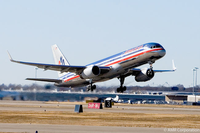 American Airlines has fitted winglets to all of its Boeing 757s. The 757 is one of the most versatile types in American's fleet and the carrier operates 757s on domestic flights as well as routes from the Unites States to the Caribbean, Central America, South America and Europe