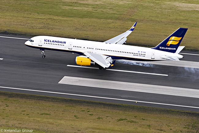 Icelandair operates a passenger-aircraft fleet of 16 Boeing 757-200s and one 757-300. The carrier also operates five Boeing 757-200PF package freighters