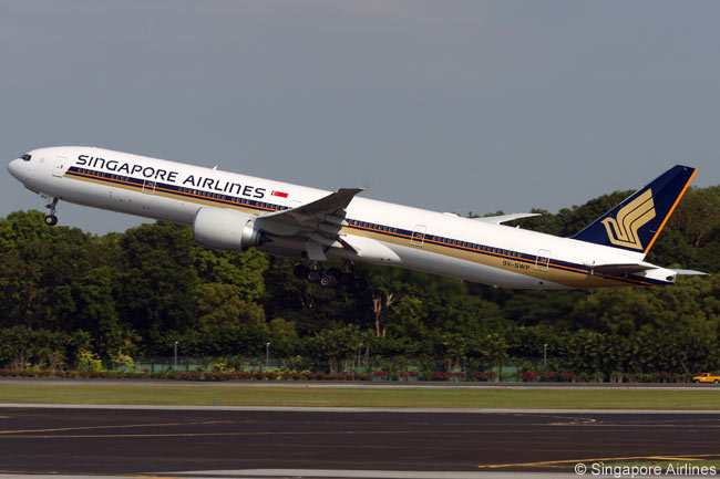 Singapore Airlines operates one of the world's largest Boeing 777 fleets and its fleet includes 19 777-300ERs