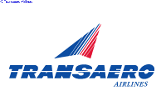 This is the official logo of Transaero Airlines, Russia's second-largest passenger airline