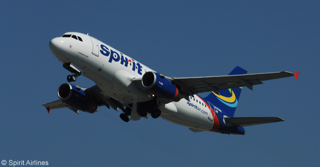 Spirit Airlines, which bills itself as America's largest ultra-low-cost carrier, operates an all-Airbus A320-family fleet