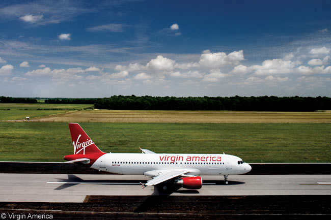Virgin America operates an all-Airbus fleet of A319s and A320s and by the end of the decade could have 100 or more aircraft in service, given the size of its current fleet and existing orders