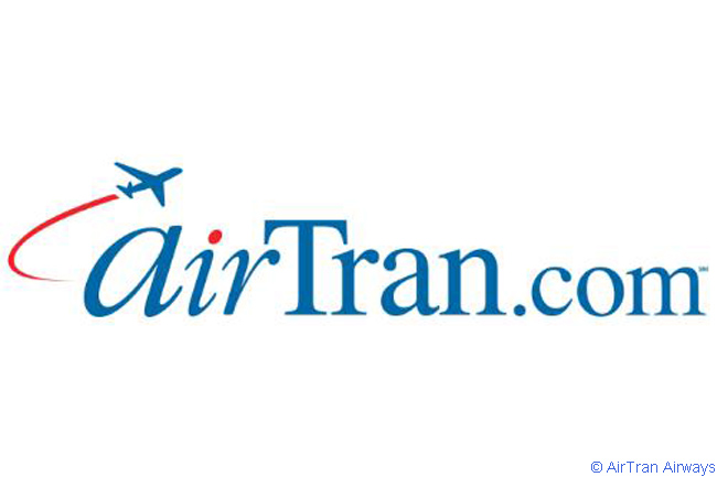 This is AirTran Airways' official logo
