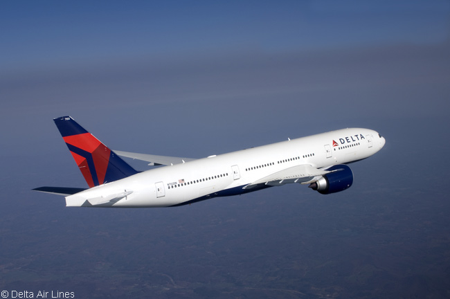 The Boeing 777-200LR is the longest-haul aircraft type in Delta Air Lines' huge fleet. Delta operates 10 of the ultra-long-haul widebodies