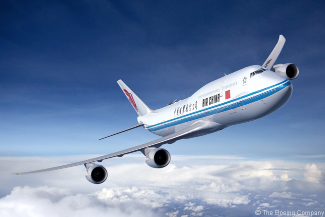 At the Asian Aerospace International Expo and Congress 2011 in Hong Kong on March 7, 2011, Air China signed an agreement to buy five Boeing 747-8 Intercontinental jetliners. Air China added another two 747-8Is to its order in March 2013, when it announced plans to buy 31 more Boeing jets