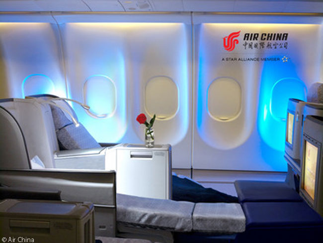 Air China decided to upgrade the Business Class cabins of 16 of its Airbus A330-200s to feature fully lie-flat beds and a new in-flight entertainment system for each seat