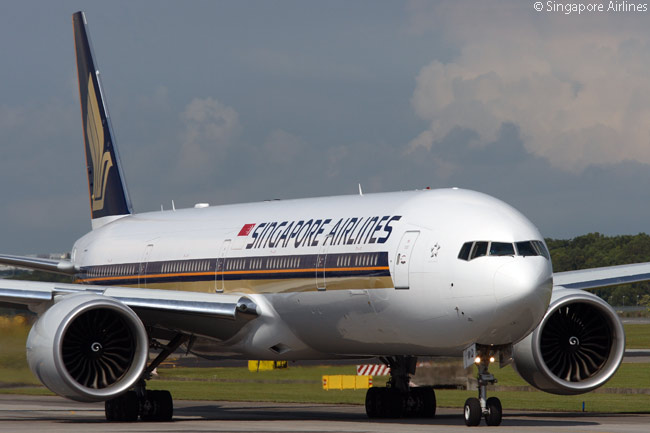 Singapore Airlines has 19 Boeing 777-300ERs in service