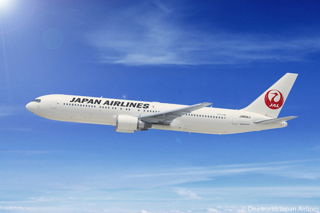 Japan Airlines operates 18 Boeing 767-300s and up to 32 Boeing 767-300ERs, one of which is shown in this photograph. It is likely these aircraft will all be replaced eventually by the 55 Boeing 787s which JAL has on order and option