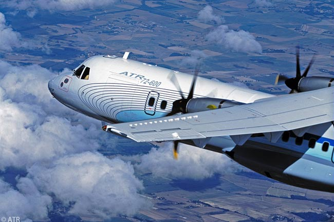 The ATR 72-600 is the upgraded version of ATR's high-selling ATR 72 70-seat turboprop
