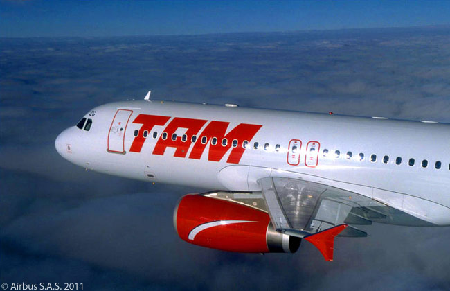 TAM Airlines is Latin America's largest Airbus A320-family operator. By October 2011 TAM had ordered and leased a total of 250 A320-family jets, including 22 A320neos