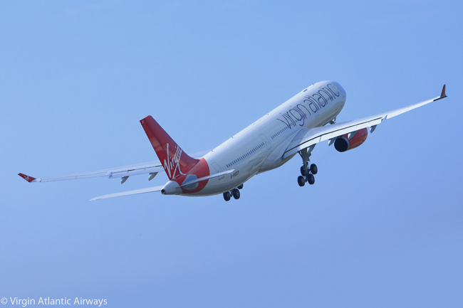 Virgin Atlantic Airways began operating the Airbus A330-300 on April 2, 2011. The UK-based airline ordered 10 A330-300s, all to be delivered by 2013, to bolster its fleet following long delivery delays to the fleet of Boeing 787s which Virgin Atlantic had ordered. Virgin Atlantic named its first A330 'Beauty Queen' and the aircraft is shown here taking off