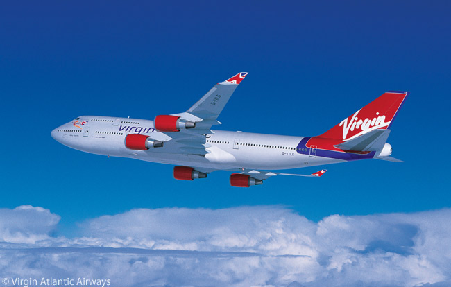 Virgin Atlantic Airways has 12 Boeing 747-400s in its fleet, and also operates Airbus A330-300s, A340-300s and A340-600s. The carrier also has Airbus A380s and Boeing 787-9s on order