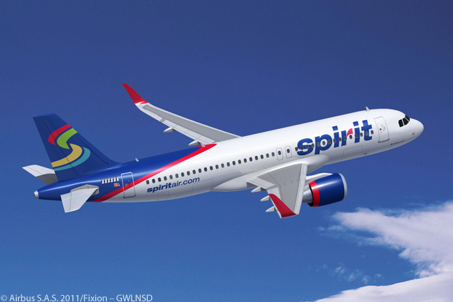 At the Dubai Airshow on November 15, 2011, Airbus and Fort Lauderdale-based Spirit Airlines signed a memorandum of understanding as a preliminary to orders from the U.S. carrier for 45 A320neos and 30 A320s