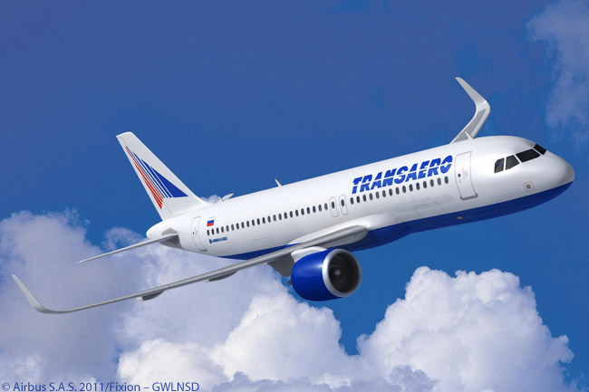 On December 5, 2011, Transaero Airlines of Russia firmed an order for eight A320neos. Transaero, which first signed a memorandum of understanding for the aircraft at the MAKS-2011 International Aviation and Space Salon in Moscow, will operate its A320neos on the carrier's extended medium-haul network of domestic and international routes