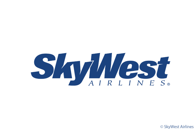 This is the official logo of U.S. regional carrier SkyWest Airlines, whose parent SkyWest, Inc. is the world's largest regional-airline group
