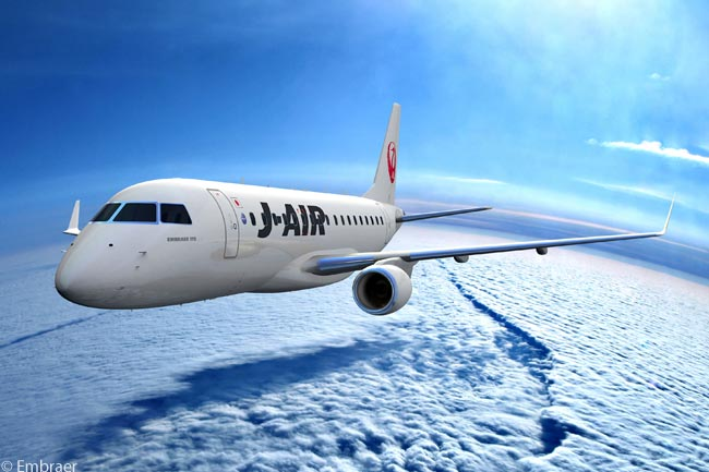 On April 4, 2012, Japan Airlines ordered an 11th Embraer 170 for operation by domestic subsidiary J-Air on regional routes within Japan