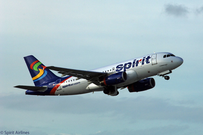 Spirit Airlines' main initial fleet type was the Airbus A319 and the carrier now operates 26 of the type, but the larger A320 is gradually overtaking the A319 as the most important fleet type numerically in the low-cost carrier's fleet