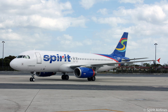 The Airbus A320 appears to represent the future mainstay of the Spirit Airlines fleet, the Fort Lauderdale-based carrier having 70 in service and on order, plus orders for 45 re-engined A320neos