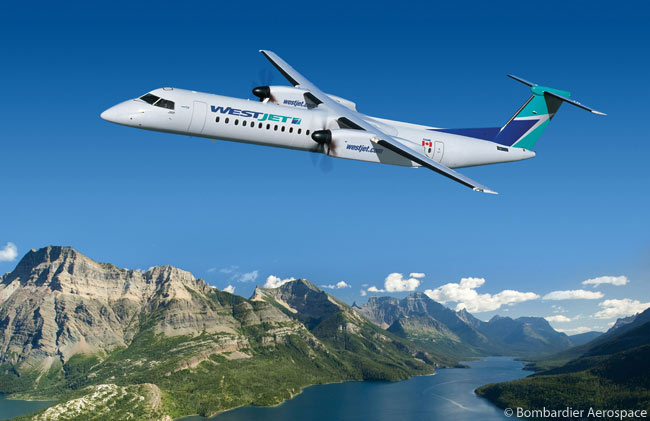 On May 1, 2012, Calgary-based Westjet announced it had selected the Bombardier Q400 NextGen turboprop as its fleet choice for the new regional airline subsidiary it planned to launch. Westjet signed a letter of intent to order 20 Q400 NextGen turboprops and option 25 more