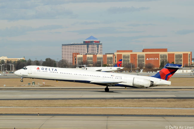 In addition to being the world's largest operator of the Boeing 757, 767-300ER, and 767-400ER, Delta Air Lines is also the largest operator of the McDonnell Douglas/Boeing MD-90, with 40 of the IAE V2500-powered jets in service as of spring 2012. In addition, Delta also still had 81 McDonnell Douglas MD-88s in operation at that time