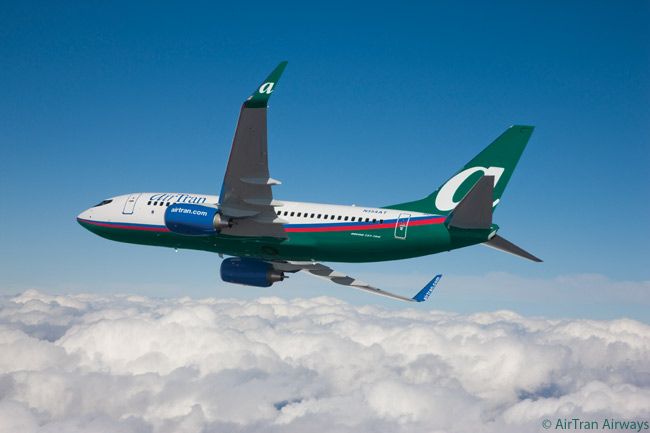 When Southwest Airlines took over AirTran Airways, it also took over AirTran's outstanding orders for 65 Boeing 737-700s. However, AirTran continued in operation with 52 already-delivered Boeing 737-700s and 88 Boeing 717s. The Boeing 717s are all due to be subleased to Delta Air Lines by 2015