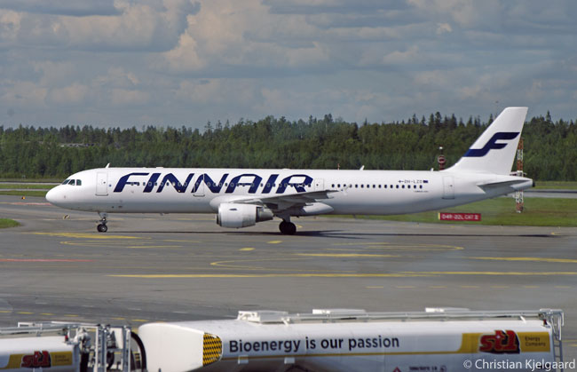 Finnair uses Airbus A320-family aircraft (all of which have common flight decks) as the core of its short- and medium-haul fleet. The carrier operates A319s, A320s and A321s and operates a 'demand-driven dispatch' flying system with its A320-family fleet whereby, the night before a given flight is due to operate, the airline can decide to replace an aircraft of one size with a different model depending on the expected passenger and cargo load