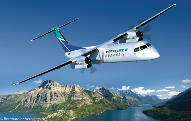 WestJet added another level of commitment to its expected order for Bombardier Q400 nextGen turboprops on June 28, 2012, when the Calgary-based airline turned its previous letter of intent for 20 aircraft into a conditional order for 20, and conditionally took options on 25 more