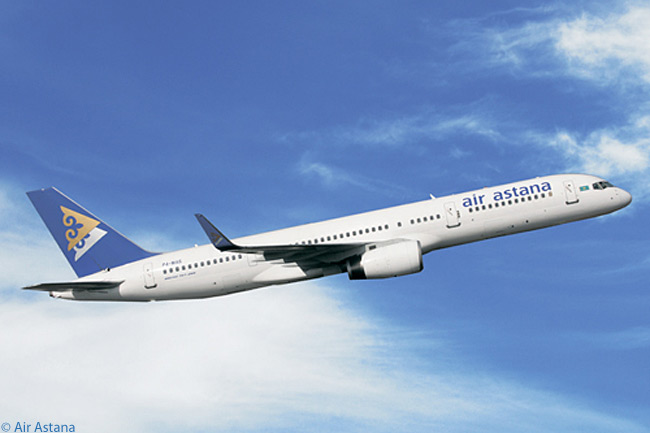 The five Boeing 757s in Air Astana's fleet are due to be replaced from the mid-teens, by Boeing 767-300ERs and Boeing 787s