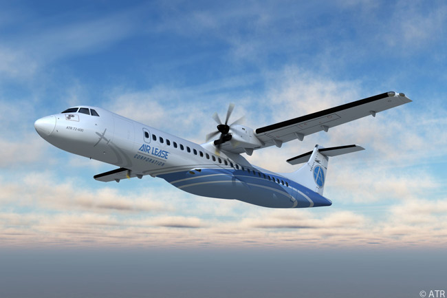 On June 20, 2013, Air Lease Corporation announced an order for five additional ATR 72-600 turboprop regional airliners at the Paris Air Show. The order increased the Los Angeles-based leasing company's total firm orders for ATR aircraft to 21
